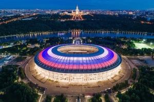 стадионе Лужники Москва
